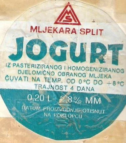 Jogurt u SFRJ Jogurt11