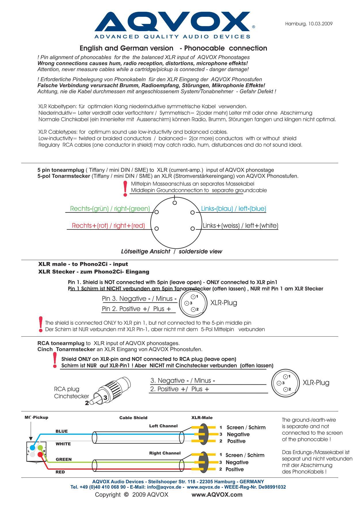 Recablear SME 3009 SERIES II IMPROVED, help! Aqvox-10