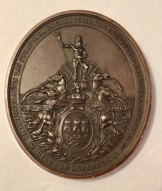 1854 condución de las aguas de los manantiales de Vento. La Habana 18a3c010