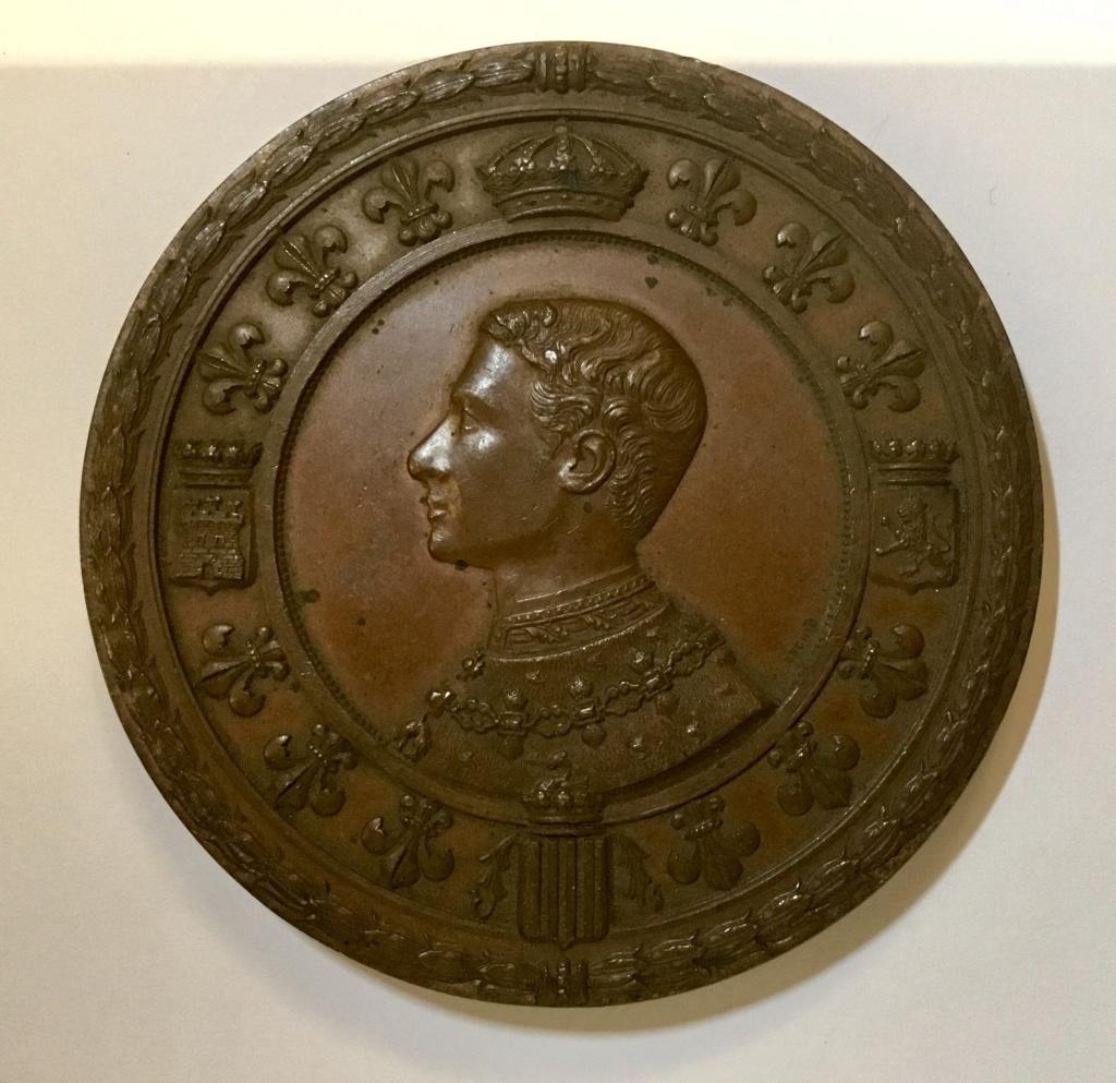1875 Barcelona. Recepción a Alfonso XII en la Restauración borbónica  1b1c3210