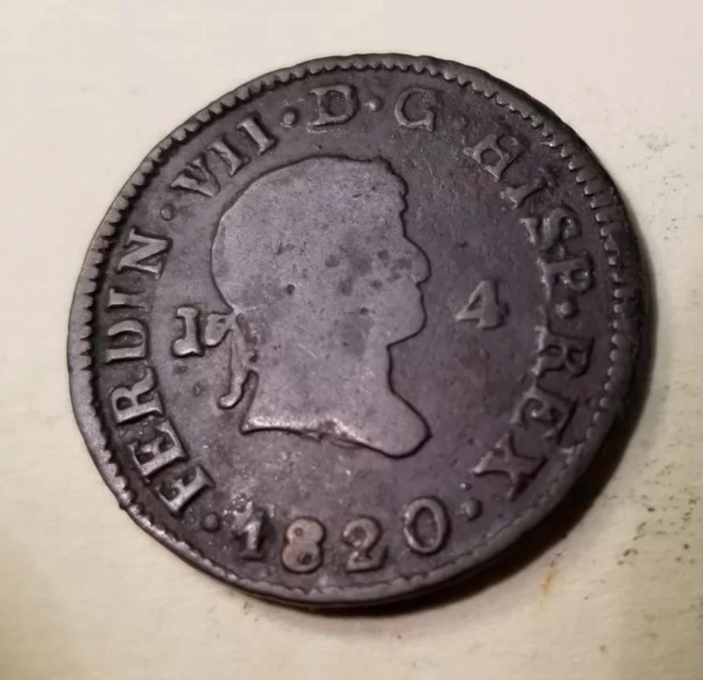 1820 Jubia, 4 maravedis 221da610