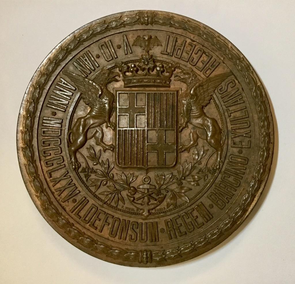 1875 Barcelona. Recepción a Alfonso XII en la Restauración borbónica  3495d310