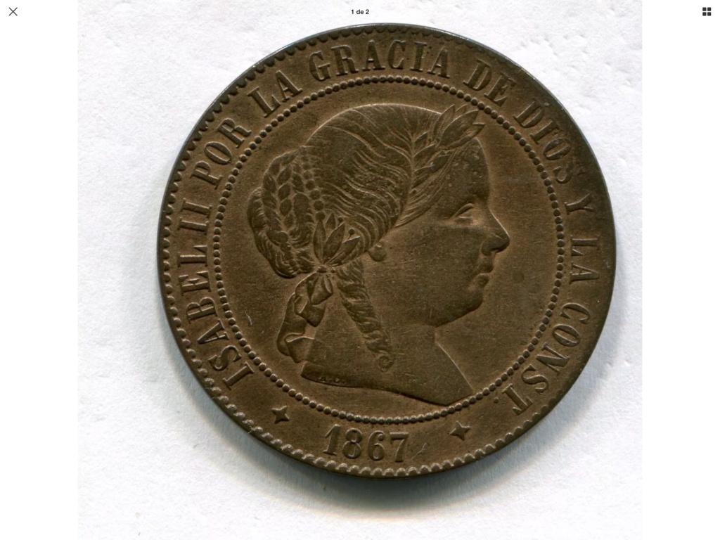 1867 Jubia 5 céntimos de escudo 411e7d10