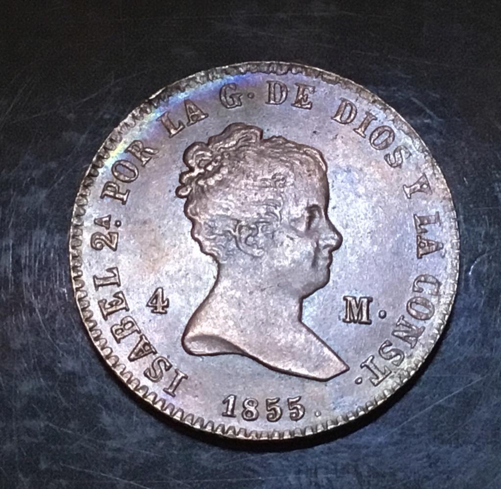 1855 Barcelona, 4 maravedis 4169ee10