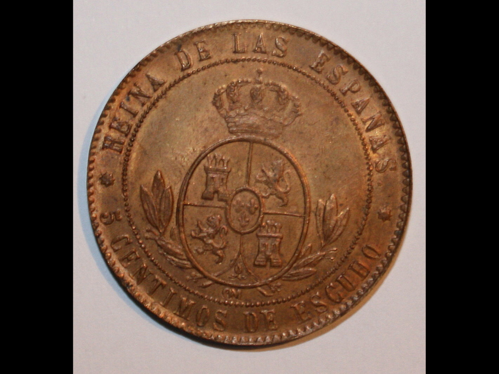 1868 Barcelona 5 centimos de escudo 4b123d10