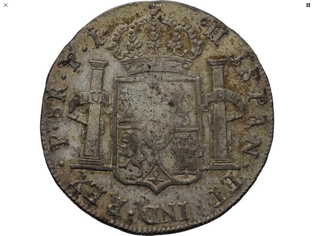 1822 potosí, 8 reales Fernando VII 60dd3e10