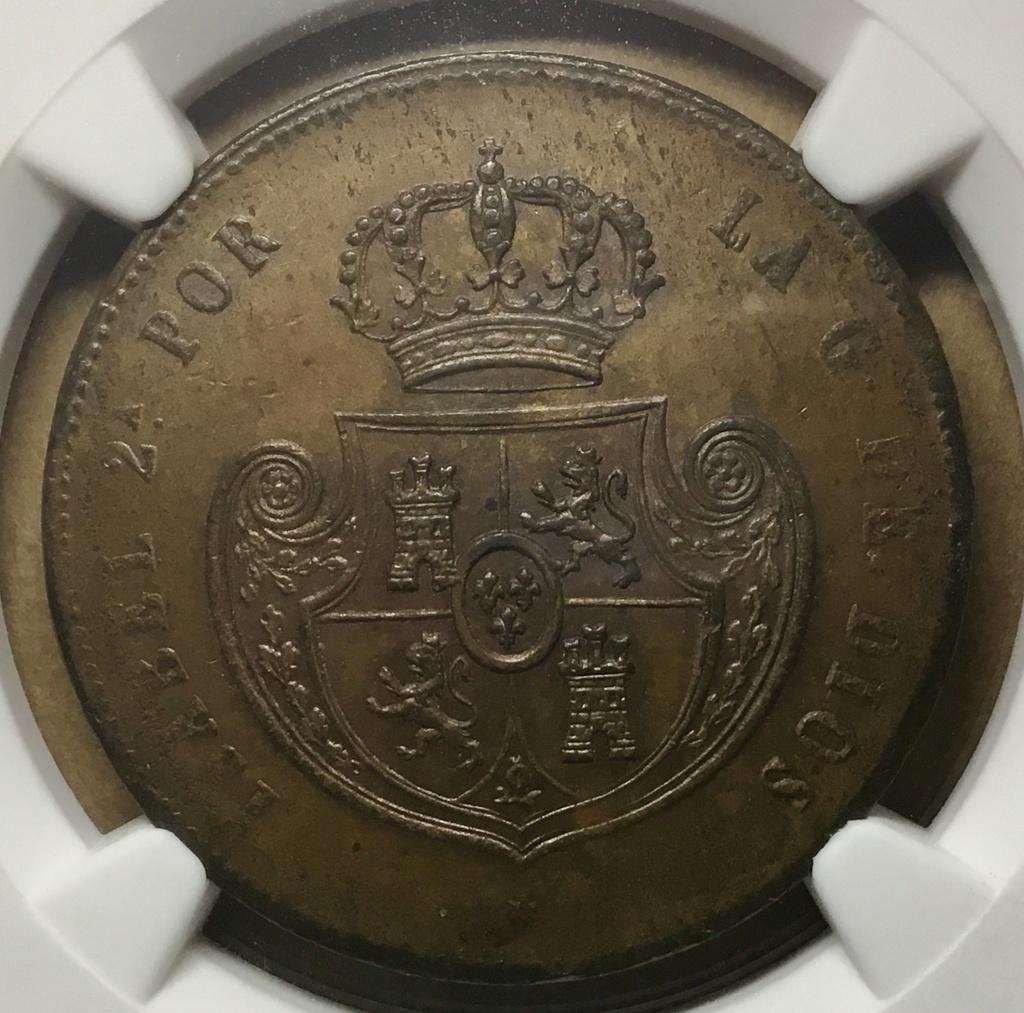 Medio real 1851, Segovia 633f5d10