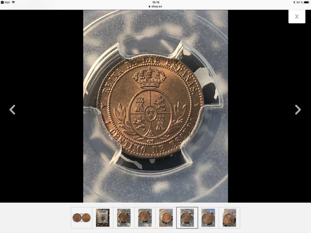 1868 1 céntimo de escudo de Segovia  A5d2b110