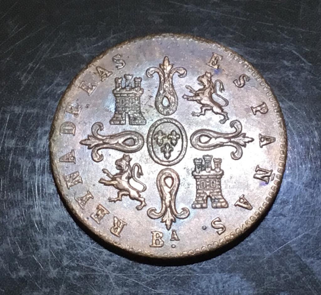 1855 Barcelona, 4 maravedis Ac2dd910
