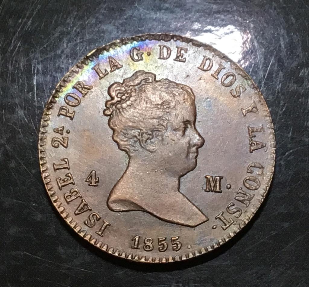 1855 Barcelona, 4 maravedis B0f5ec10
