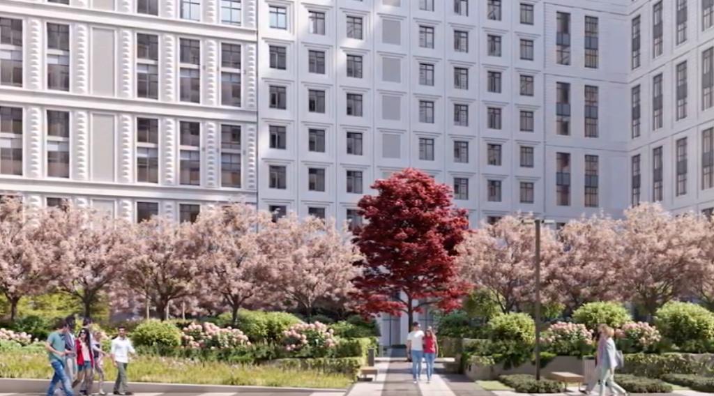 Архитекторы о благоустройстве территории ЖК «Серебряный фонтан» 2210