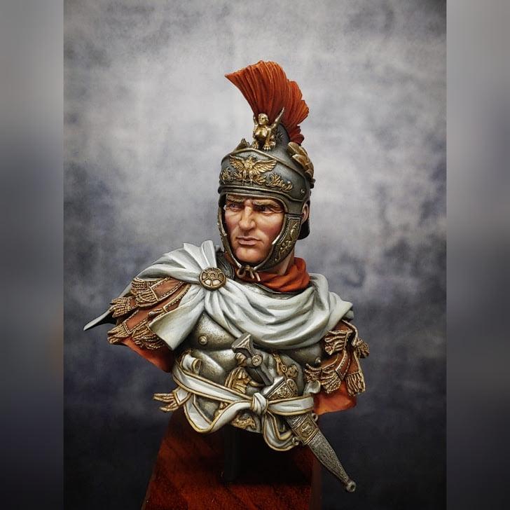 1/10 Buste - Officier de cavalerie romain - Page 2 12833910