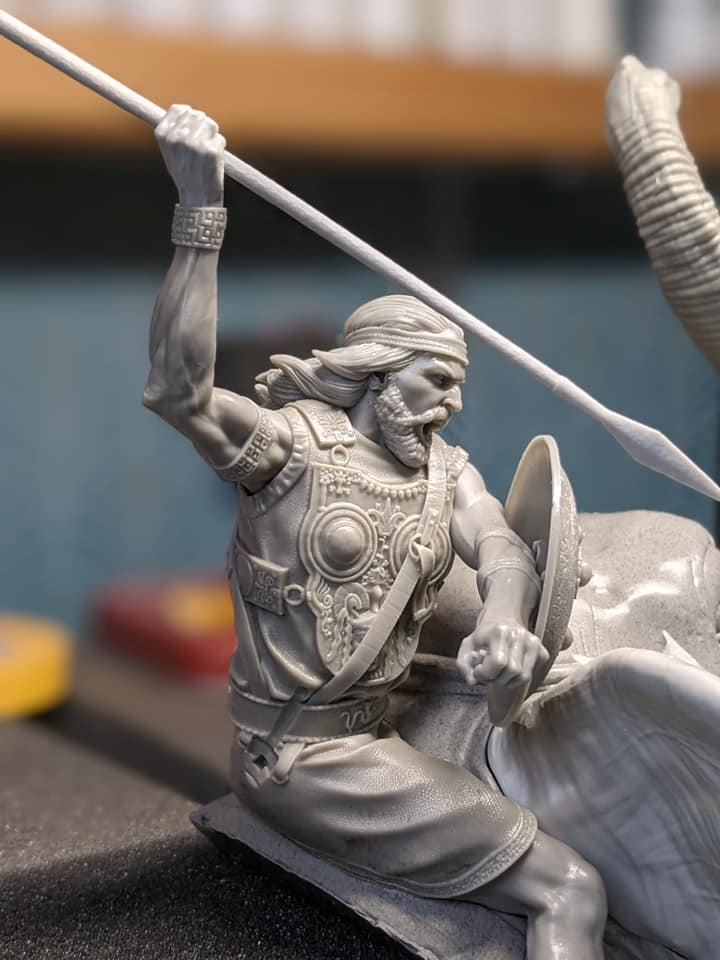 RP MODELS - Buste d'éléphant de guerre carthaginois 18176810