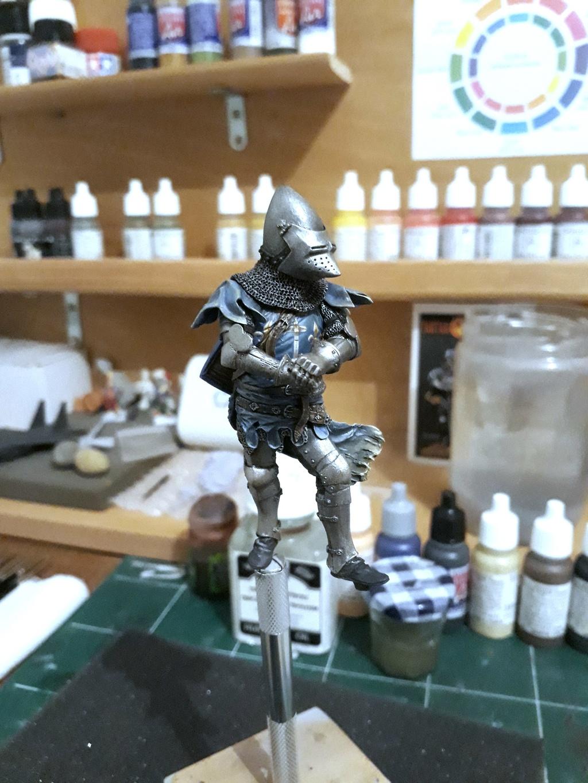 Chevalier de Béhourd - Tartar Miniatures 75 mm 20180611
