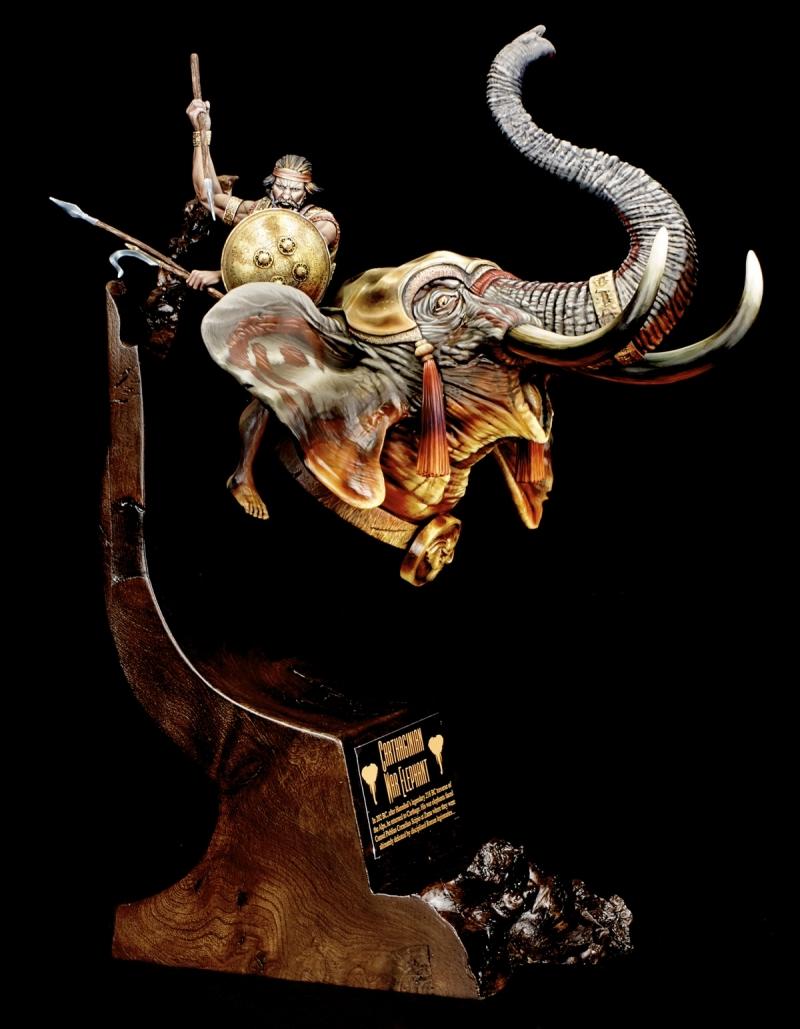 RP MODELS - Buste d'éléphant de guerre carthaginois Icch_410