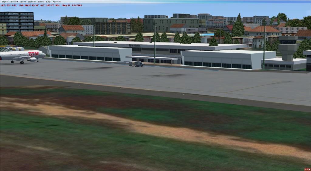 [DESENVOLVILMENTO] SBTE - Aeroporto Senador Petronio Portella - Teresina/PI Rebooted 20181113