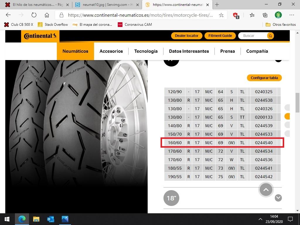 El hilo de los neumáticos.... - Página 24 Contia10