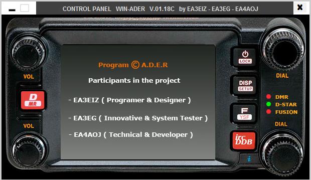 Software WIN-ADER para comunicaciones digitales en WINDOWS Captur13