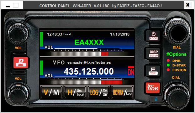 Software WIN-ADER para comunicaciones digitales en WINDOWS Captur14