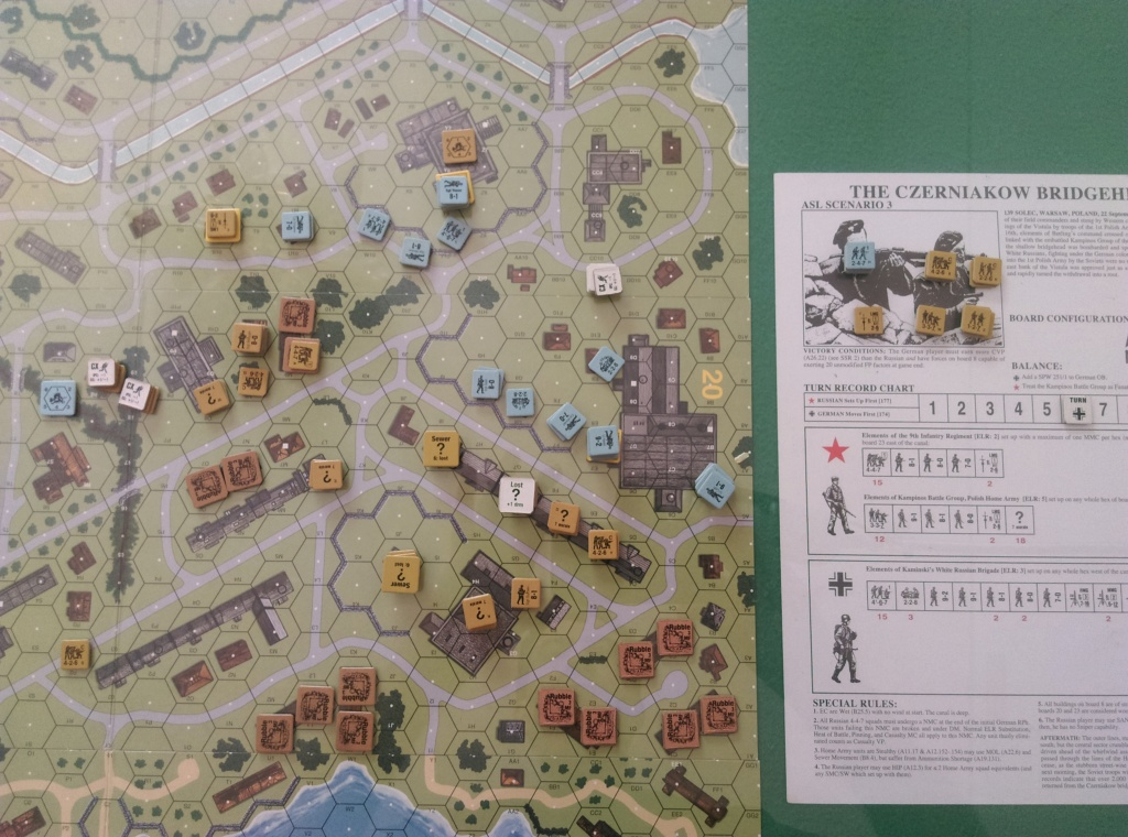 "3-player ASL in Wugu. ASL-003 ""The Czernaikow Bridgehead"" (John and Little Wolf vs Robin) Asl-0011"