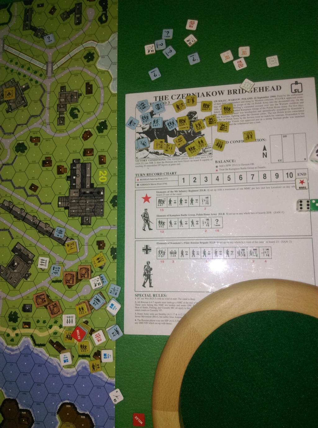 "3-player ASL in Wugu. ASL-003 ""The Czernaikow Bridgehead"" (John and Little Wolf vs Robin) Asl-0017"