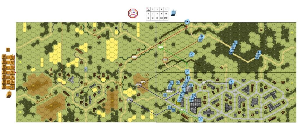 "ASL-128 ""The Defense Of Luga"" (John vs Robin) Asl-1211"