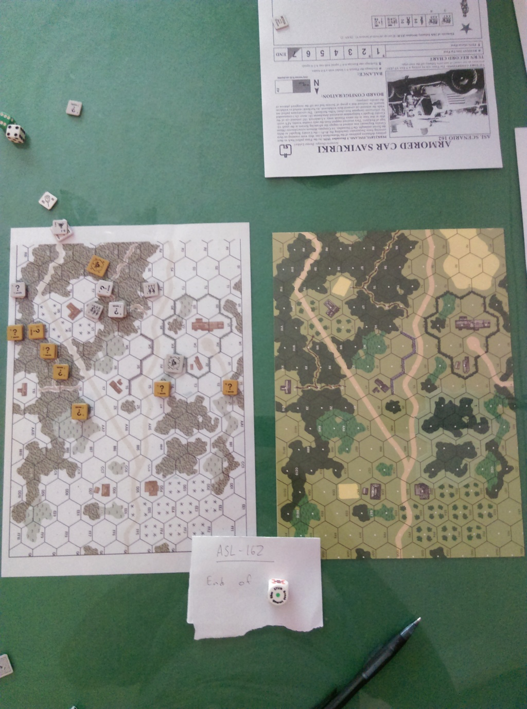 AFV training in Wugu. (John vs Roy) Asl-1610