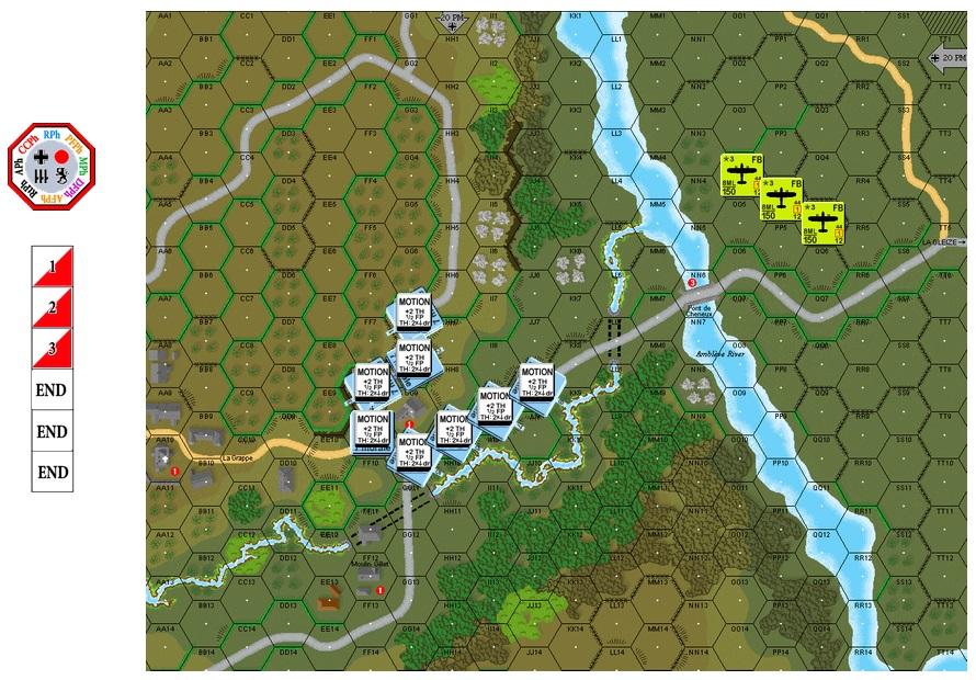"Air Support Training on VASL, G-041 ""Jabo!"" (John vs Robin) G-041-10"