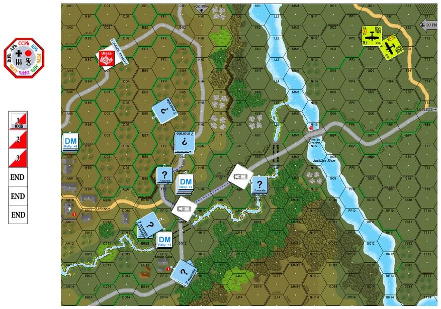 "Air Support Training on VASL, G-041 ""Jabo!"" (John vs Robin) G-041-11"
