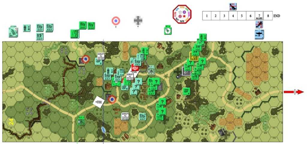 "(More) Air Support Training On VASL, J-048 ""Blood Enemies"" (John vs Robin) J-048-13"