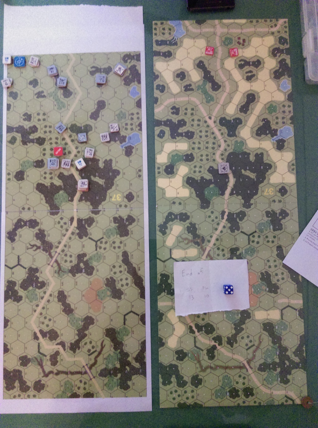 AFV training in Wugu. (John vs Roy) J-192-14