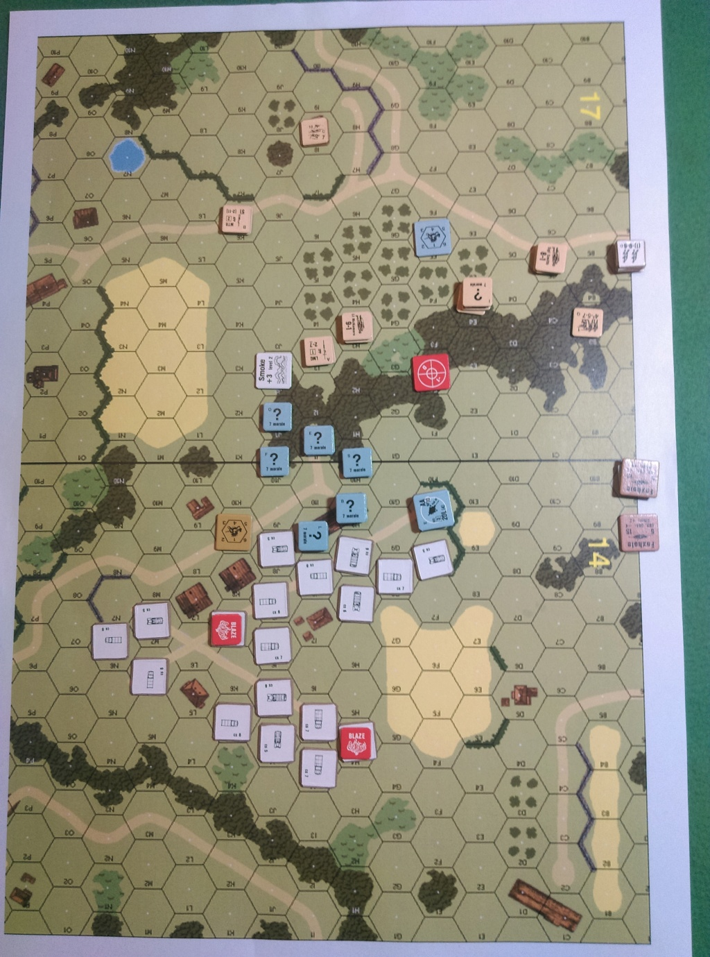 ASL Action In Wugu. ASL-188 and OA-019 (John vs Little Wolf) Oa-01911