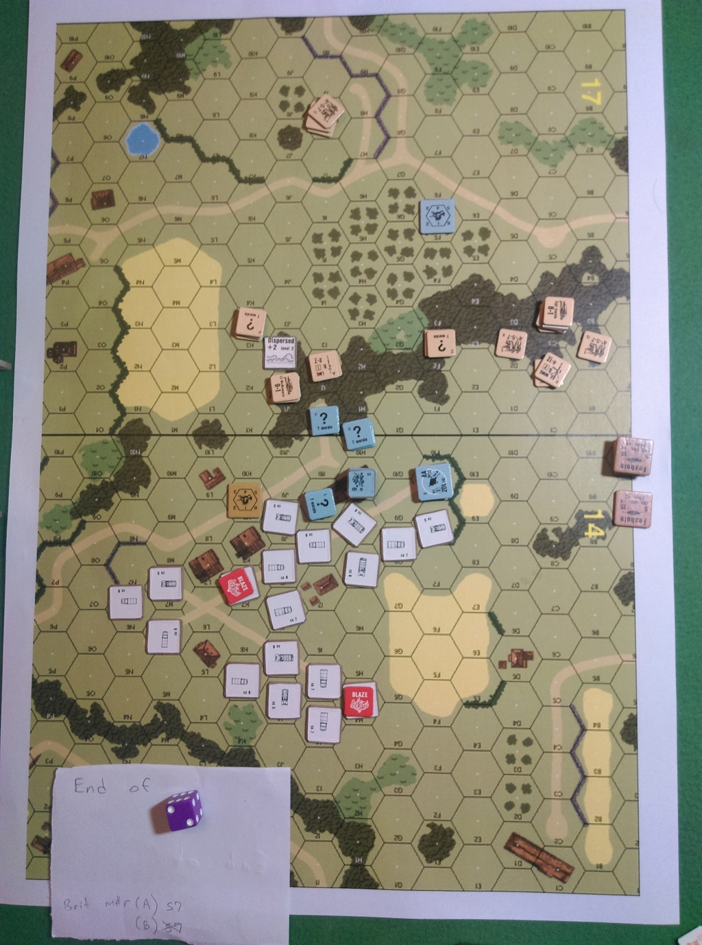 ASL Action In Wugu. ASL-188 and OA-019 (John vs Little Wolf) Oa-01912