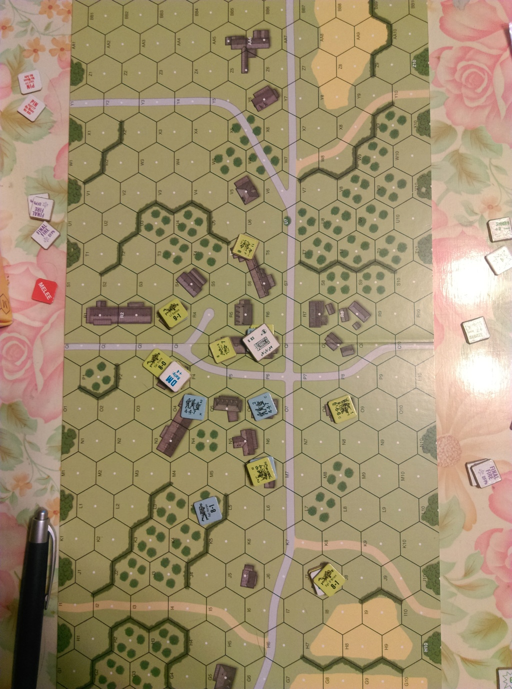 S-059 ASLSK game in Wugu (John vs David) S-059-10