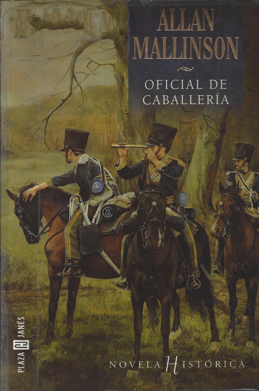 Oficial de caballería - Allan Mallinson (Matthew Hervey, I) Portad16
