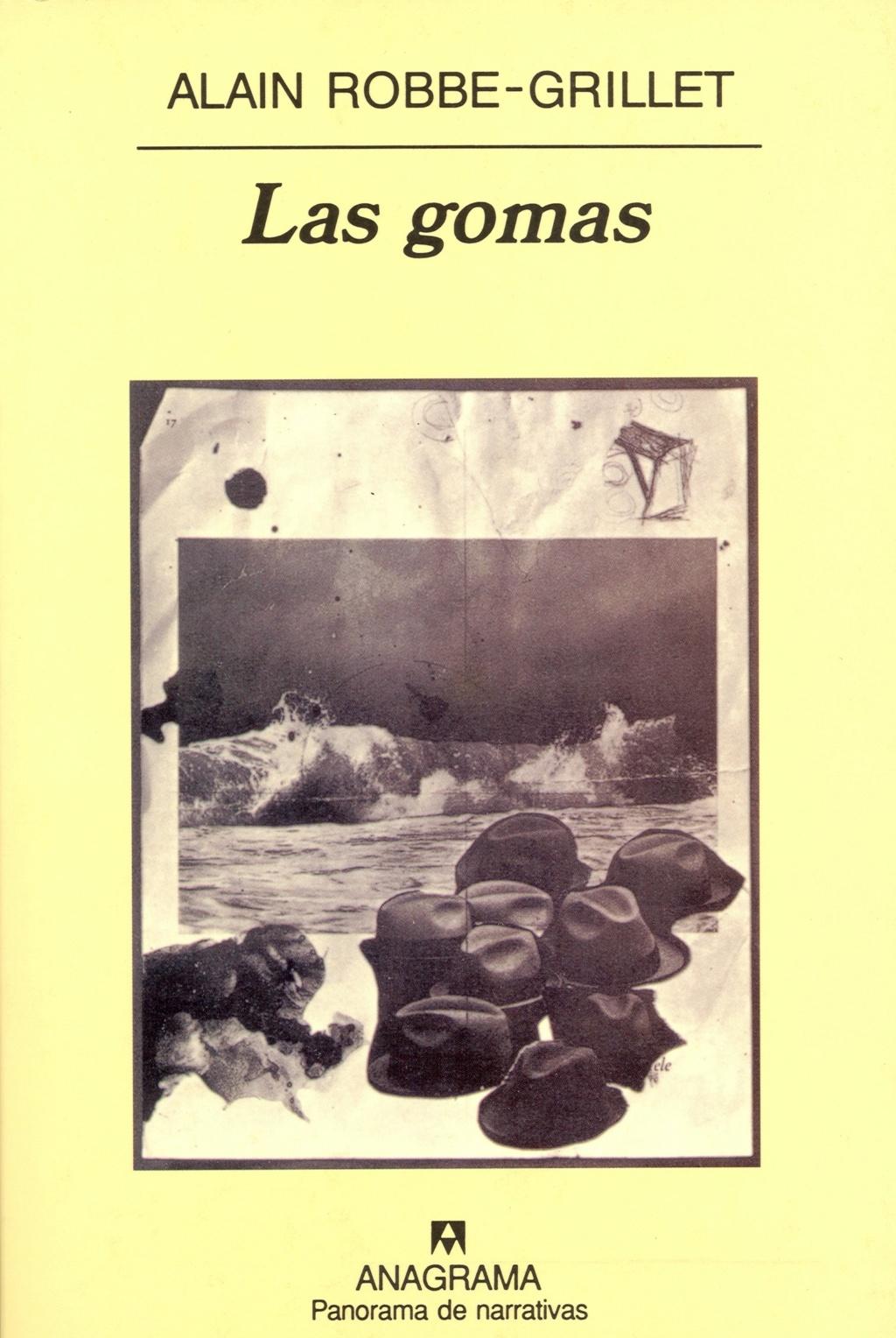 Las gomas -Alain Robbe-Grillet Portad18