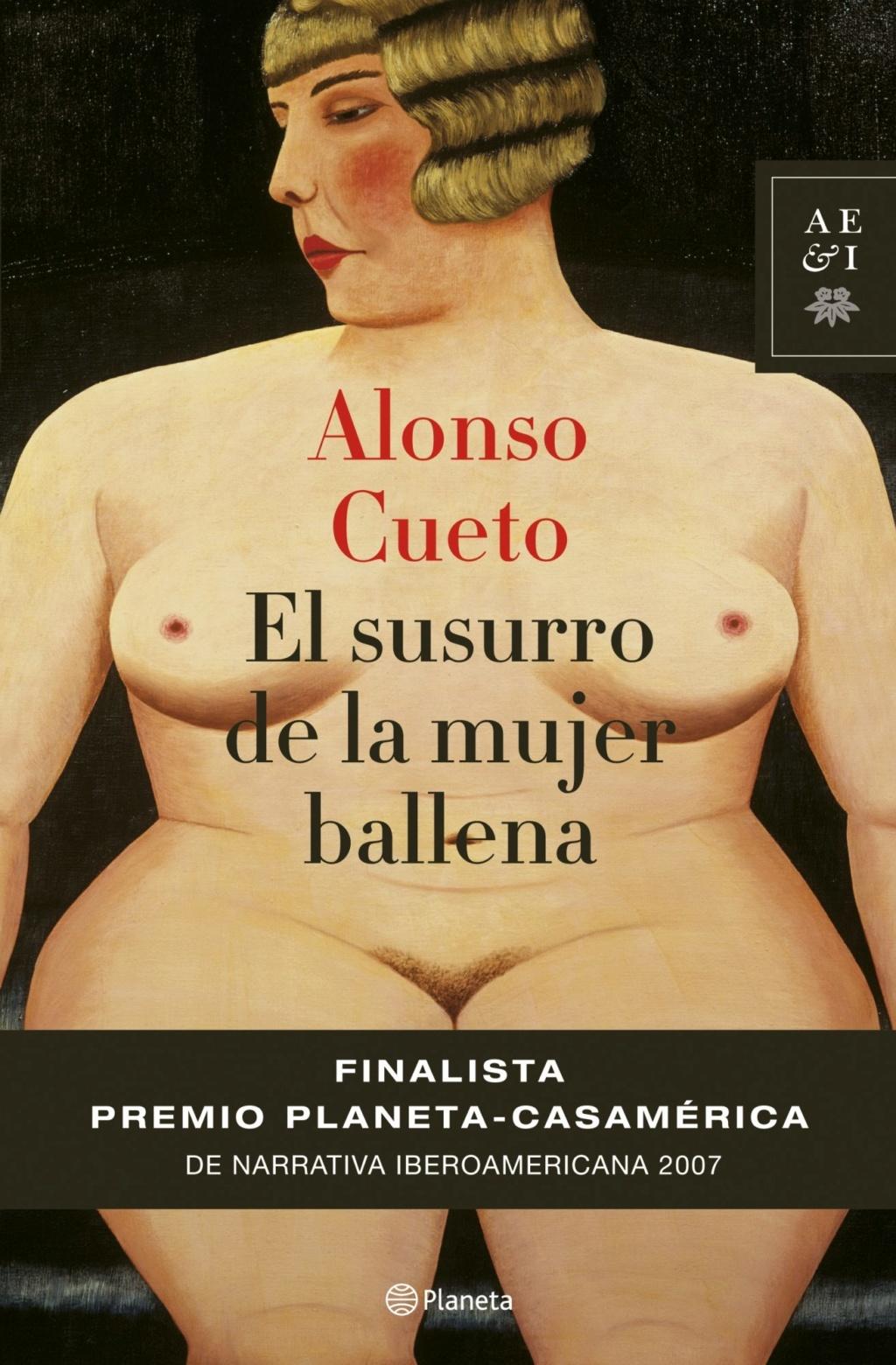 El susurro de la mujer ballena - Alonso Cueto Portad27