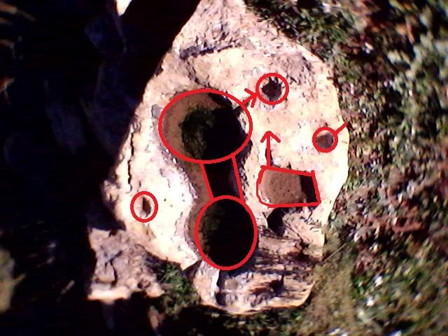 خريطة اجران على صخرة ثابتة 221