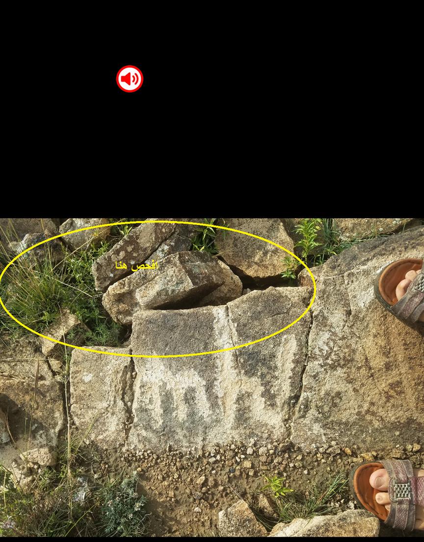 تحليل اشاره وكتابه على صخره  Screen24