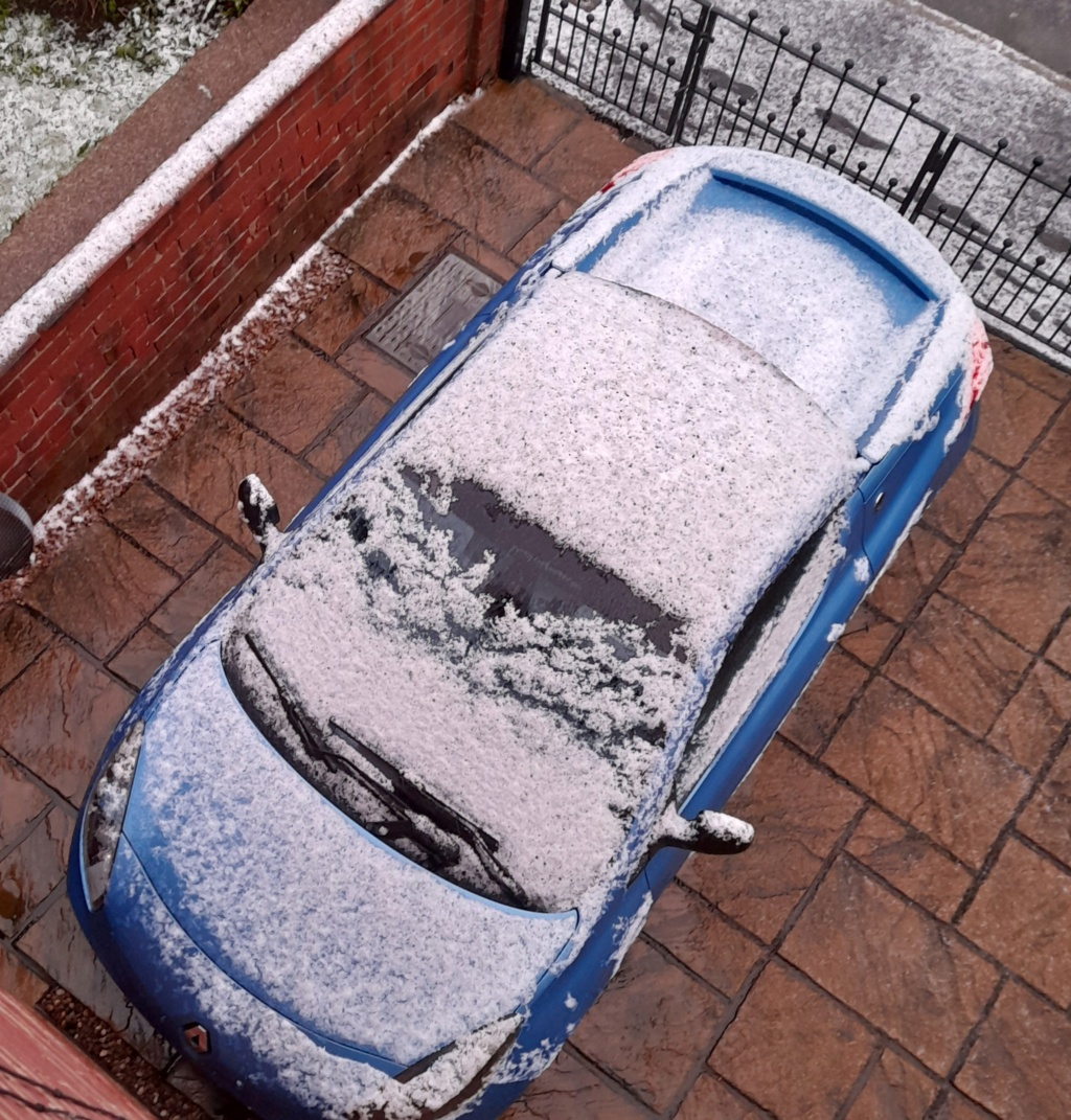 We have snow ok not much  20201210
