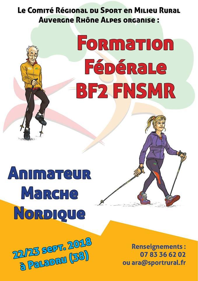 Formation Animateur Marche Nordique Fédérale BF2 FNSMR (09/2018) (38) Animat10
