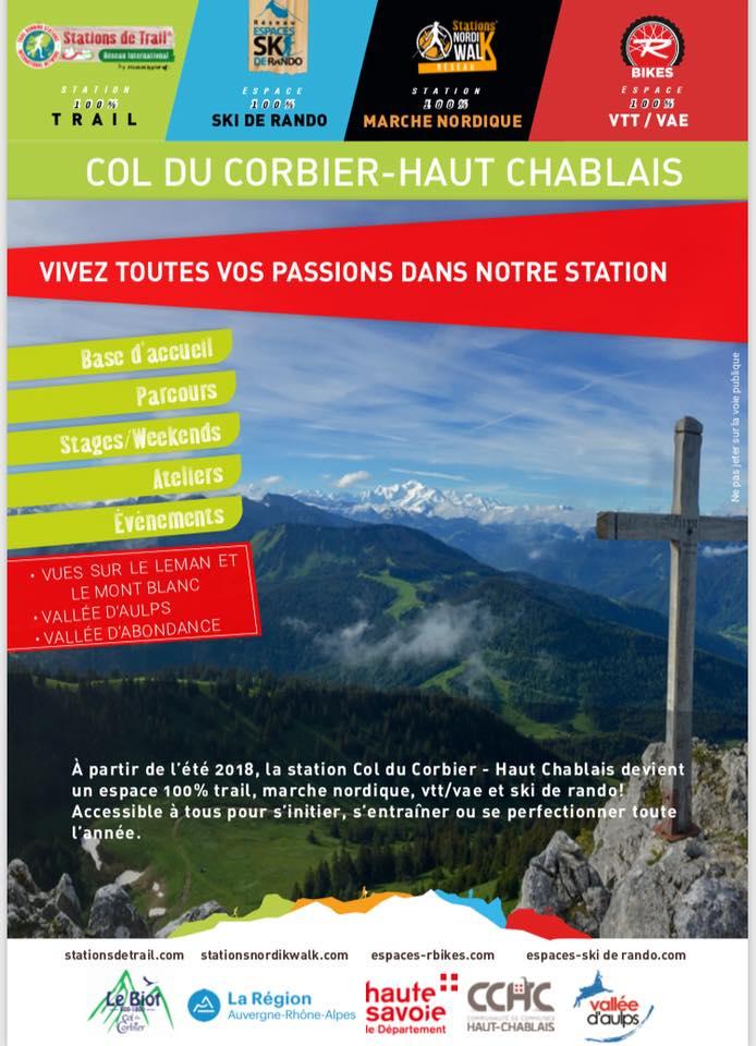 Station Nordik Walk du Haut Chablais (74) - Parcours de Marche Nordique Corbie10