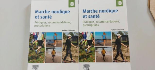 MARCHE - Livre : Marche Nordique et Santé Depies10