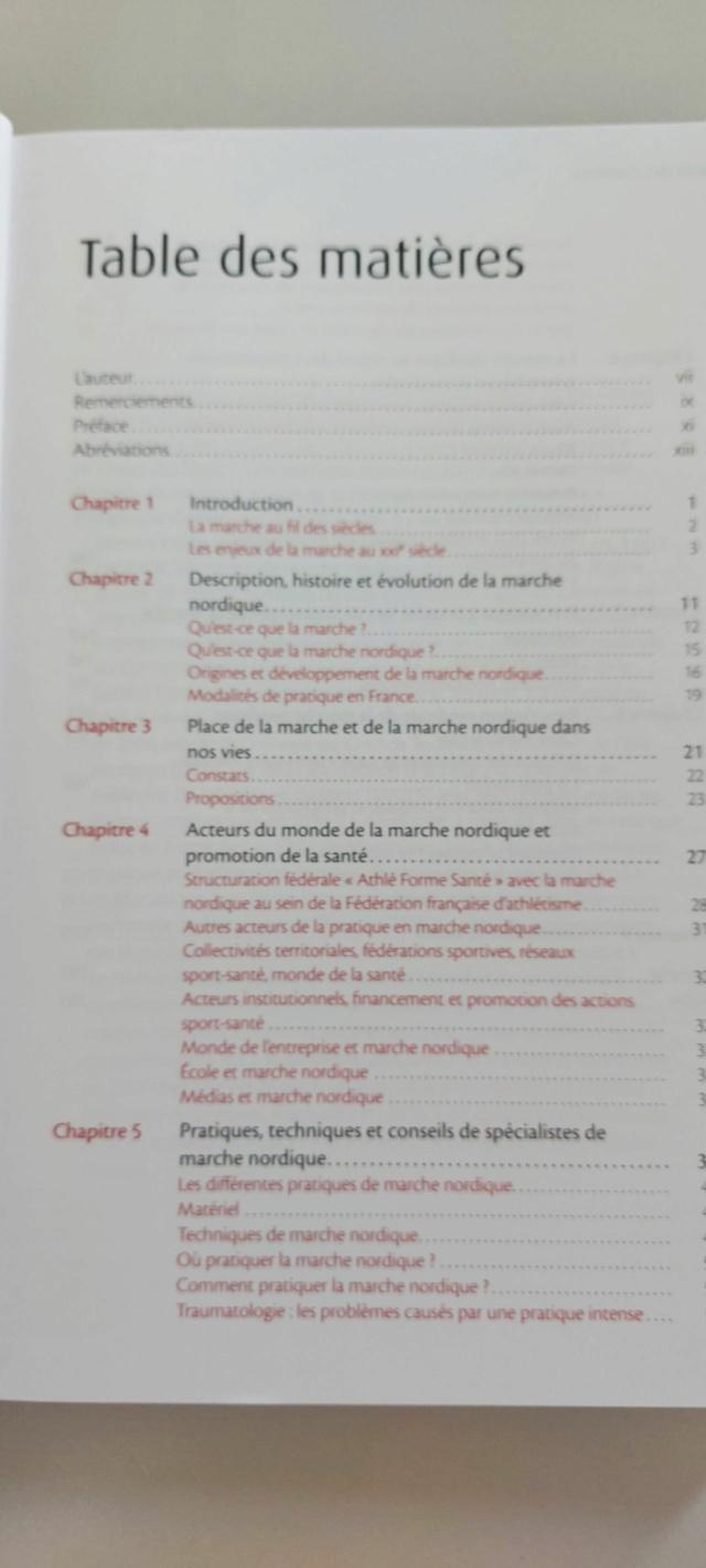 MARCHE - Livre : Marche Nordique et Santé Depies11