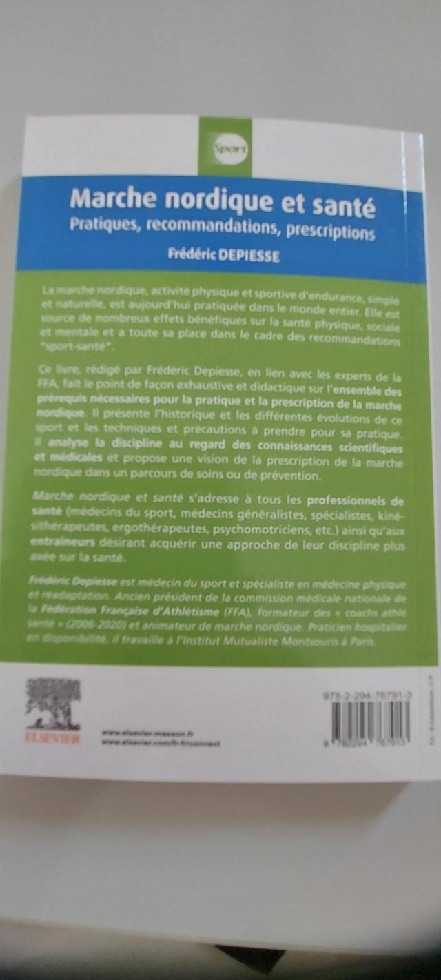 MARCHE - Livre : Marche Nordique et Santé Depies13