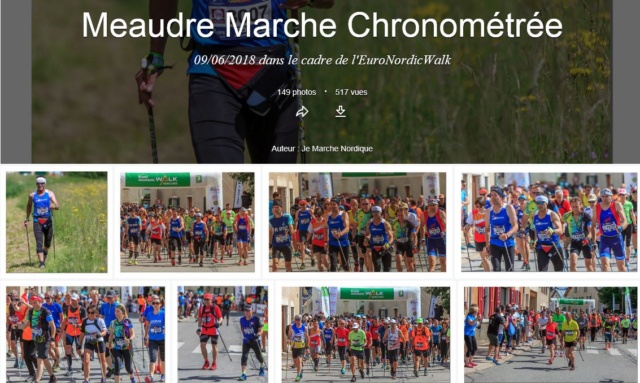 Photos Marche Nordique Chrono Meaudre EuroNordicWalk 09/06/2018 Meaudr10