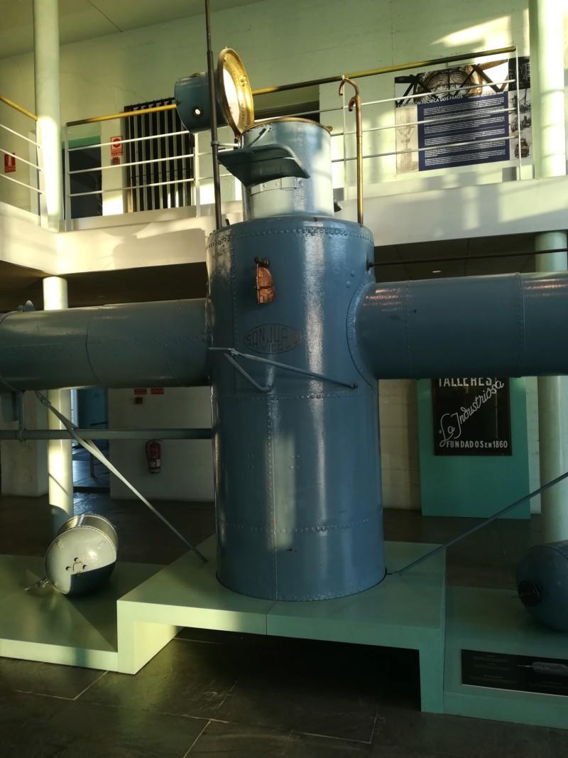 120 Aniversario mini submarino Sanjurjo Badia 20180823