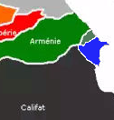 Traité de paix concernant la guerre Arméno-Azeri Carte_11