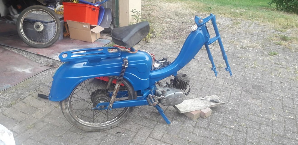 Remise en route Flandria Primus 3 vitesse 1962 Photo-10