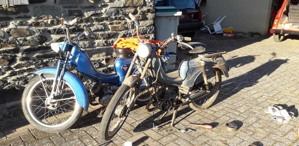 Remise en route Flandria Primus 3 vitesse 1962 Photo_10